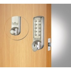 CL2255 Electronic Tubular Mortice Latch Lock