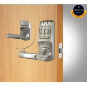 CL5010 Audit Trail Electronic Tubular Mortice Latch Lock
