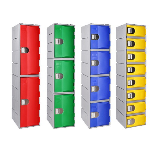 Heavy Duty Plastic Lockers PremierLockers