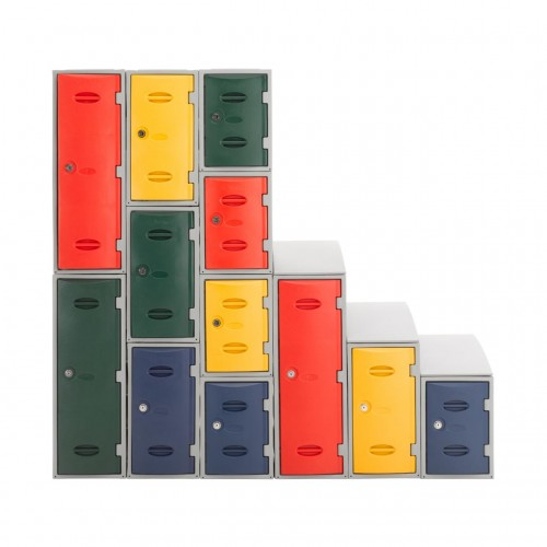 Coloured eXtreme Plastic Lockers Premier Lockers