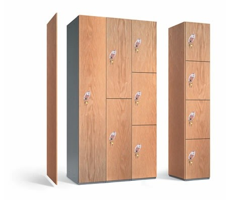 Timber Laminate Lockers PremierLockers