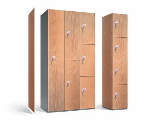 Timber Laminate Lockers PremierLockers
