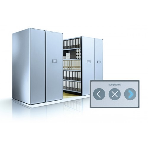 Compactus Electric Mobile Shelving Premier Lockers