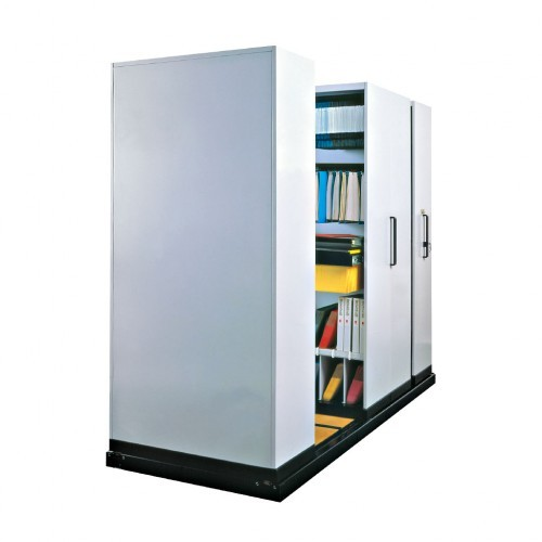 Compactus Hand-Operated Mobile Shelving Premier Lockers
