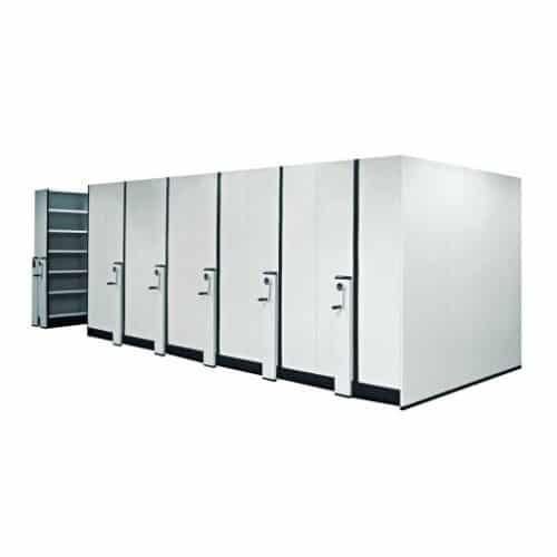 Compactus Mechanical Mobile Shelving Premier Lockers