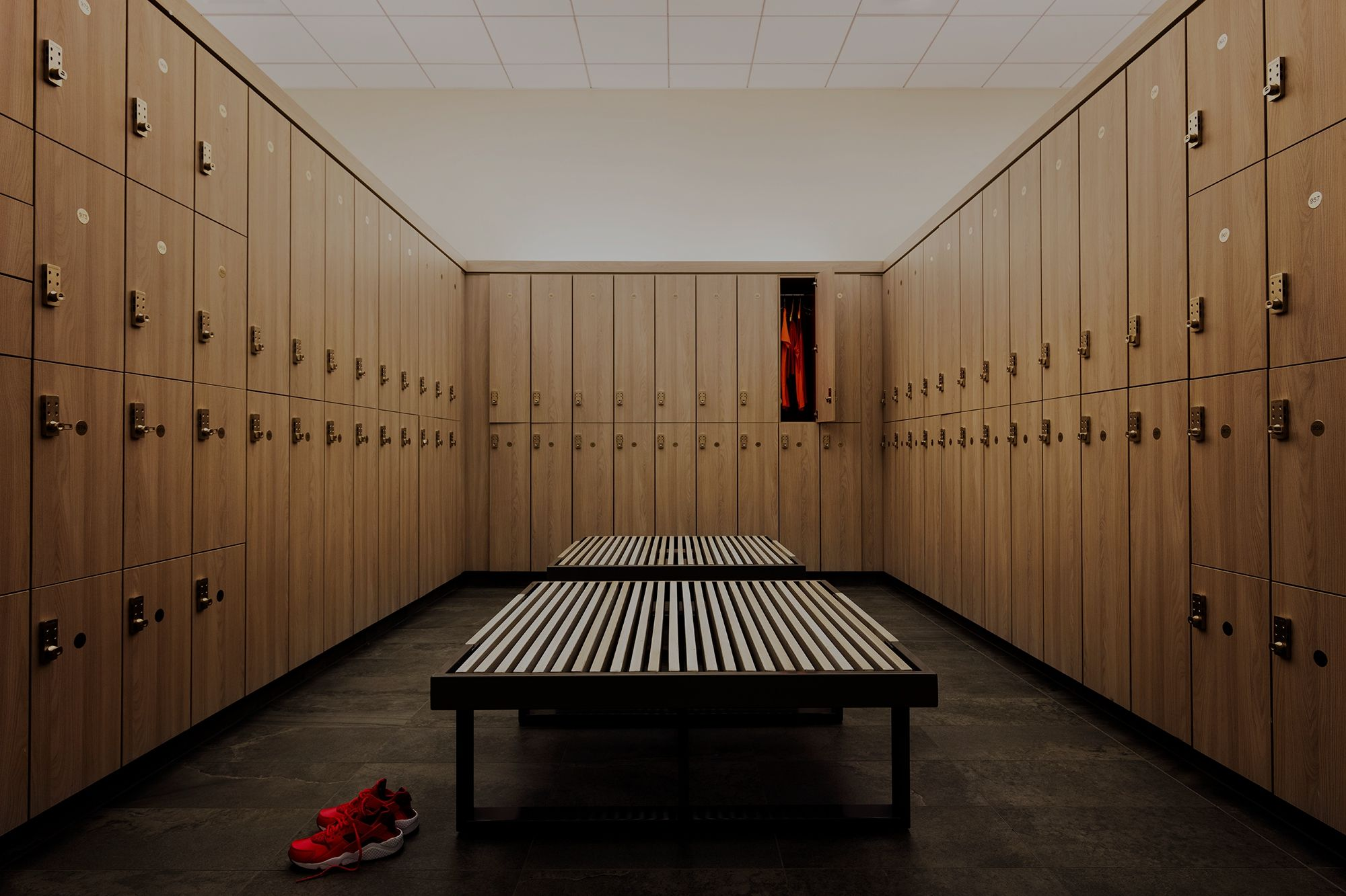 Sports Locker Room
