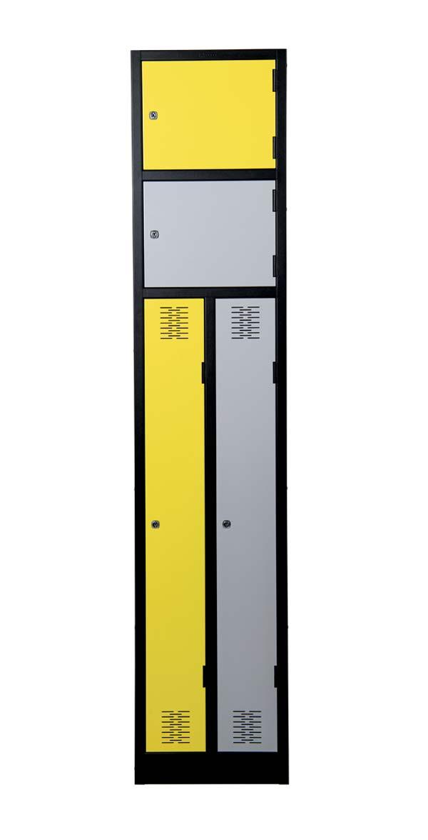 Dual Compartment Lockers Image 1 Premier Lockers