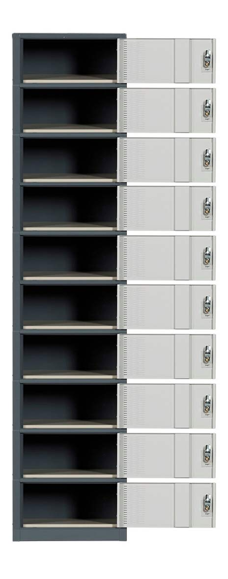 Ten Door Contemporary Lockers Image Premier Lockers
