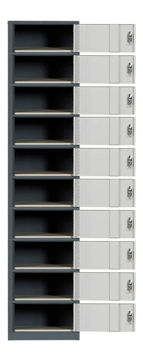 Ten Door Contemporary Lockers Image Premier Lockers