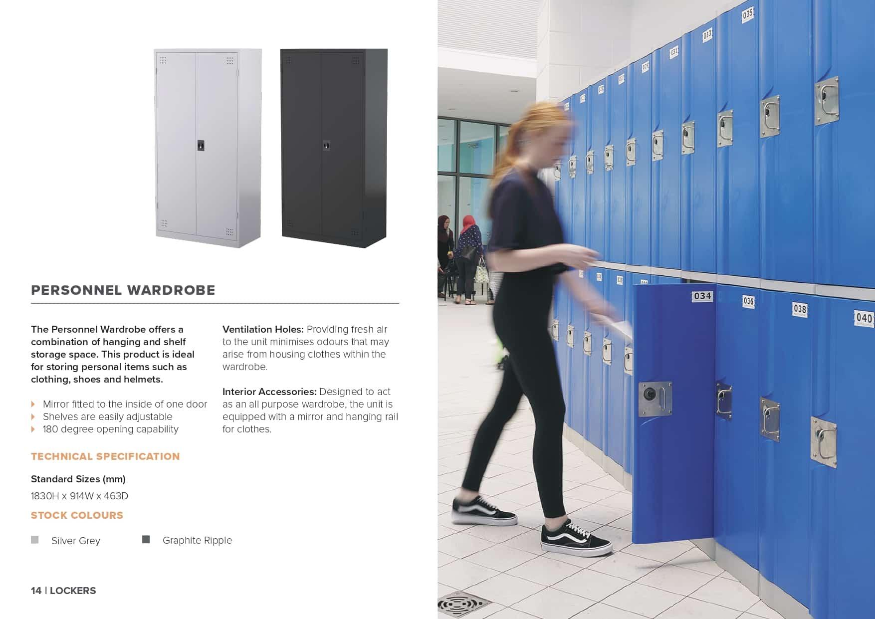 Premier Lockers Brochure - Premier Lockers