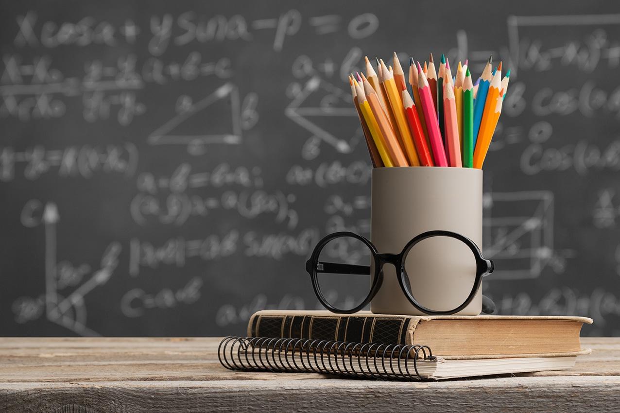Day international school teachers blackboard books brazil