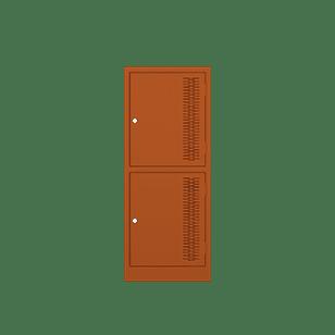 Half-Height-Locker-Orange