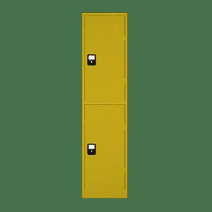 Heavy-Duty-School-Locker-Lemon-Yellow